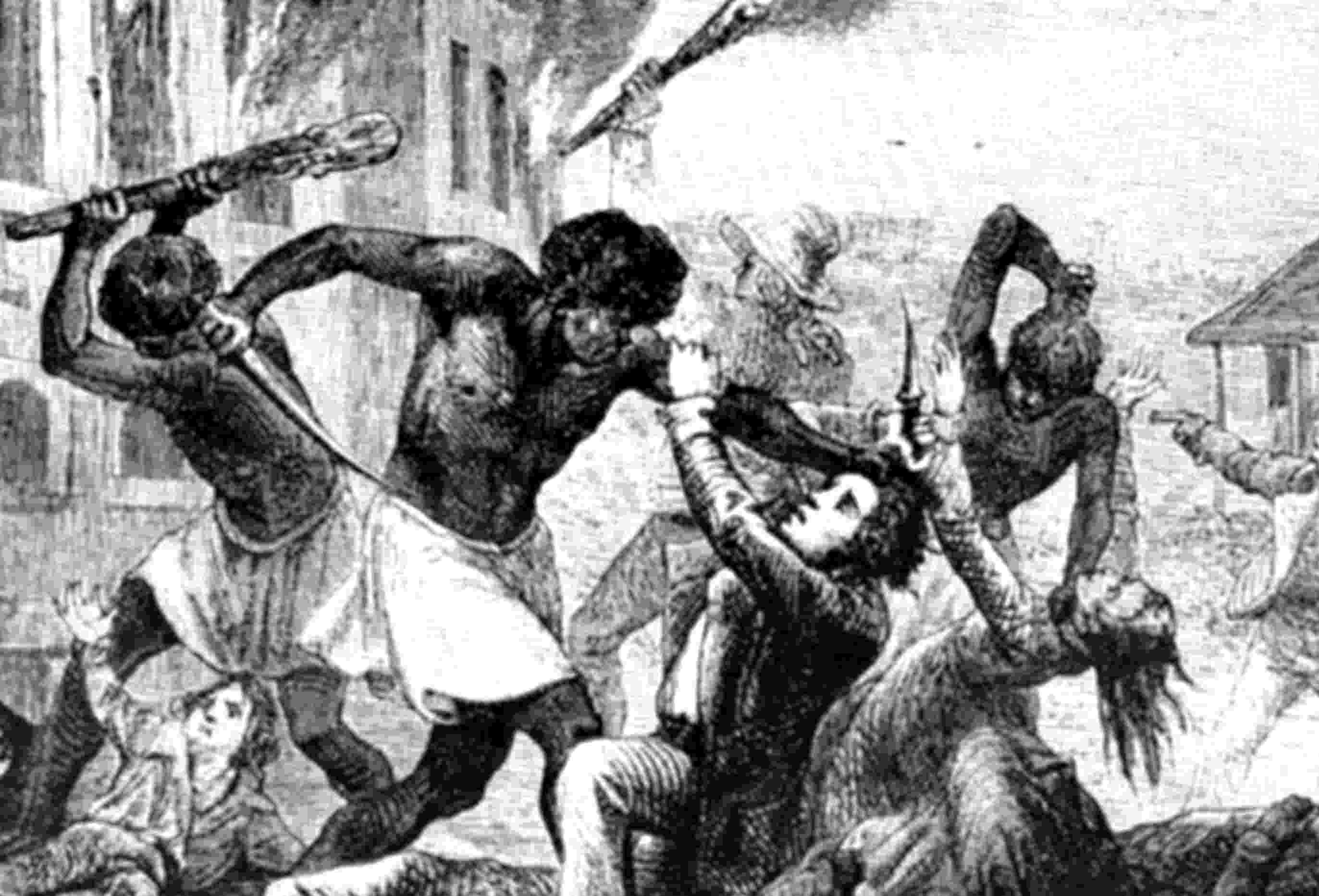 Revolta dos escravos